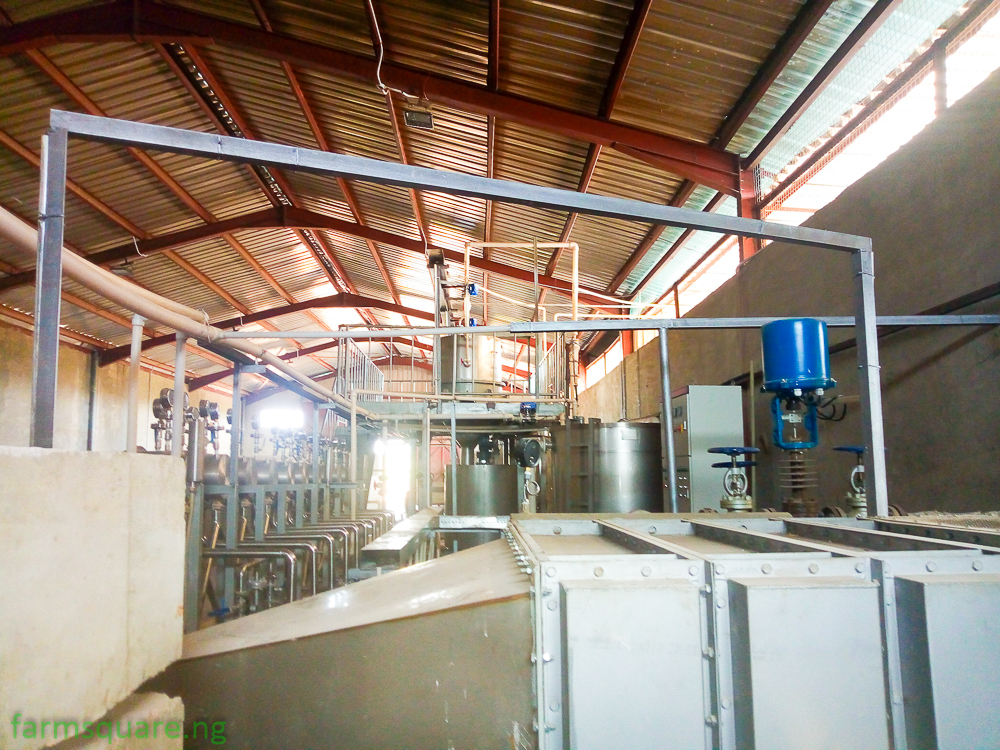STARCH LINE: Fully Automated End-End Cassava Starch Processing Plant