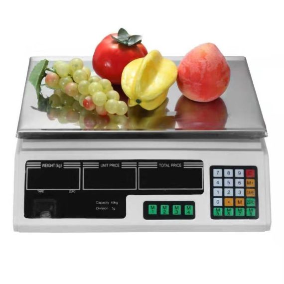 Digital table scale