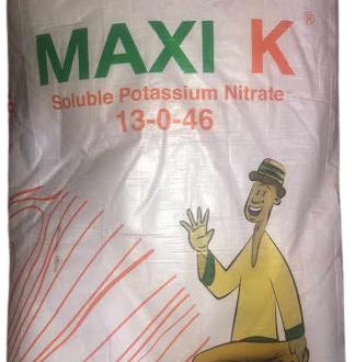 Maxi K Soluble Potassium Nitrate Fertilizer -25kg