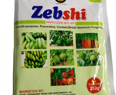 Zebshi Mancozeb 80% WP Fungicide