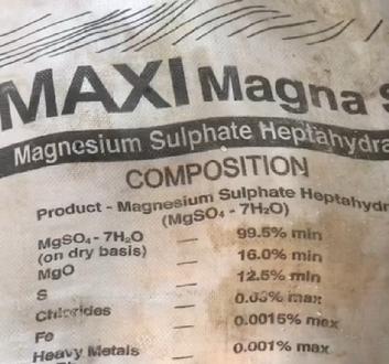 Maxi magna fertilizer