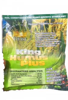 King Humus Plus Organic Soil Conditioner and Growth Stimulant -100g