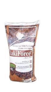 Takiforce Garden soil with fertilizer