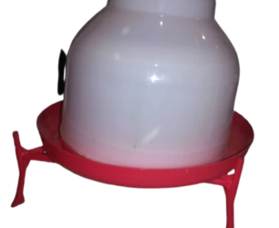 Manual drinker with stand