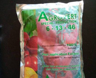 Agrovert 6-13-46 fertilizer