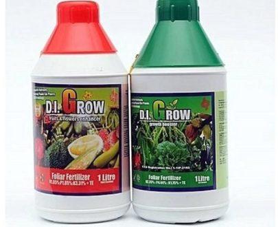 D.I. Grow Organic Foliar Fertilizer (Green | Red)