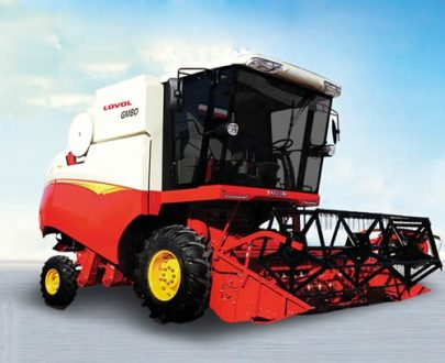 LOVOL GM80 Combined Wheel Harvester (PS   175)